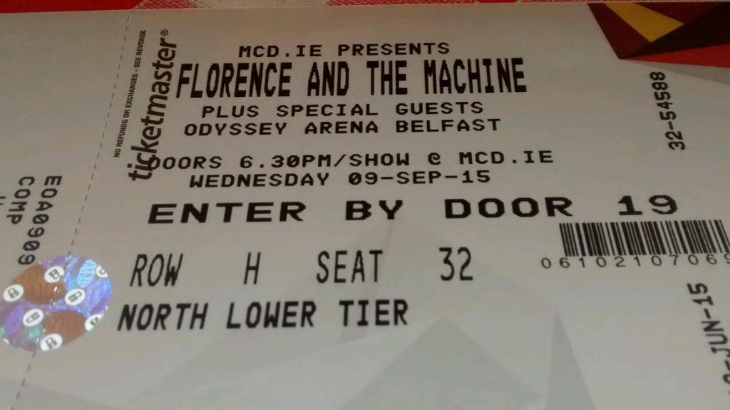 tickets for florence and the machine