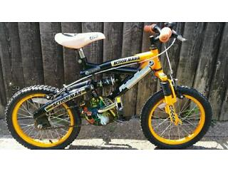 Action man bike from 0 to 6