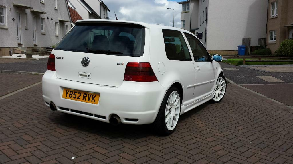 Golf Mark 4 Rare White Mark 4 Golf Gti For