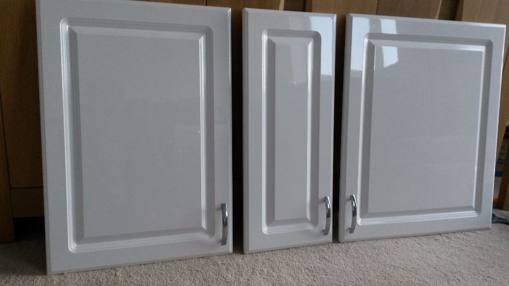 White Gloss Kitchen Cupboard Doors Buy Sale And Trade Ads