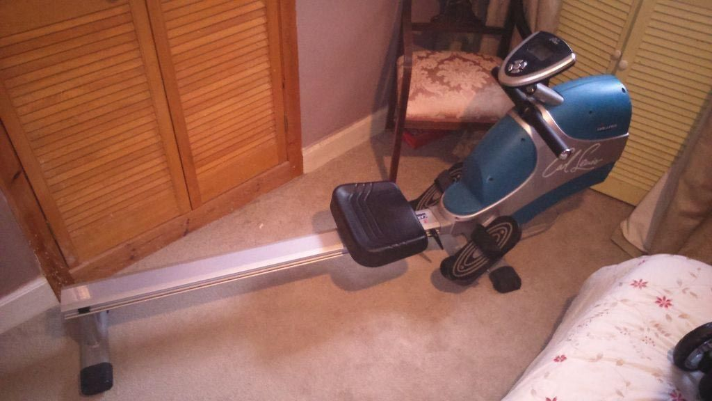 Lewis Rowing Carl Lewis Rowing Machine