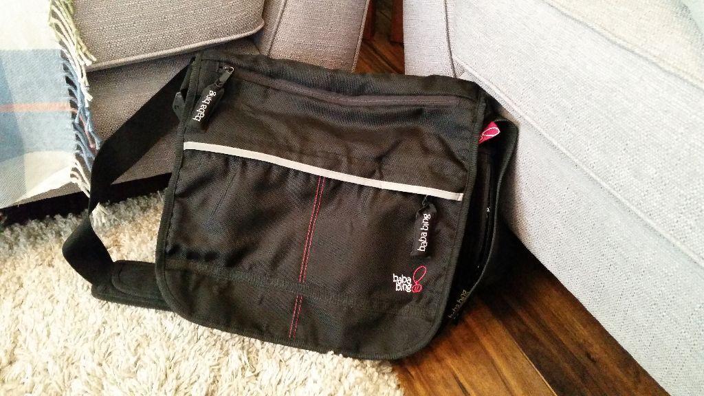 Baba bing changing bag black baba bing changing bag for Bing bags for sale