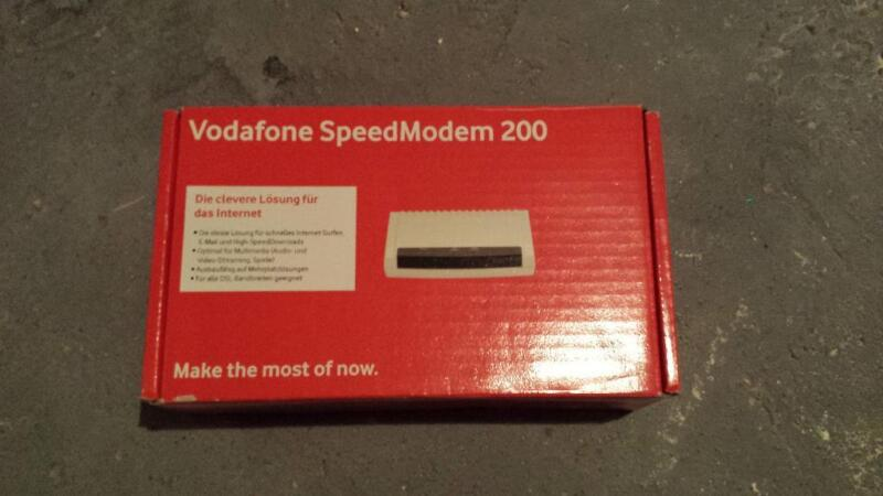 vodafone speedmodem 200 in nordrhein westfalen neuss netzwerk modem gebraucht kaufen. Black Bedroom Furniture Sets. Home Design Ideas
