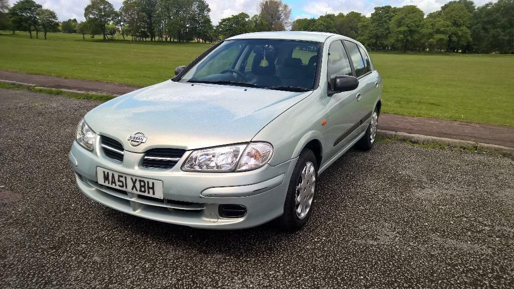 2001 nissan almera 1 5 s 5 door hatchback united kingdom. Black Bedroom Furniture Sets. Home Design Ideas