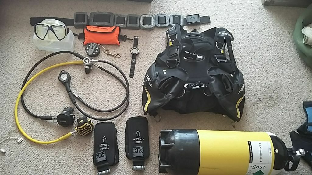 7 litre diving cylinder buy sale and trade ads great prices - Apex dive gear ...
