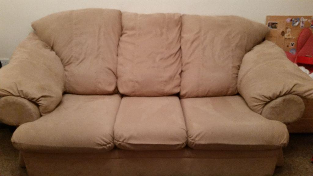 Three seat sofa and chair united kingdom gumtree for P a furniture kirkby