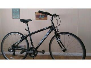 Aluminium frame road bike