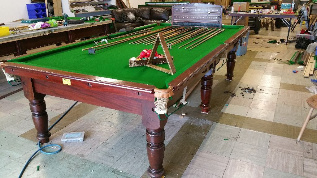 10x5 foot antique snooker table vqc united kingdom gumtree