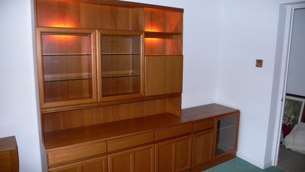 Plan wall unit ads buy sell used find right price here for G plan dining room furniture sale
