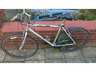 Mens Raliegh Hybrid Bike