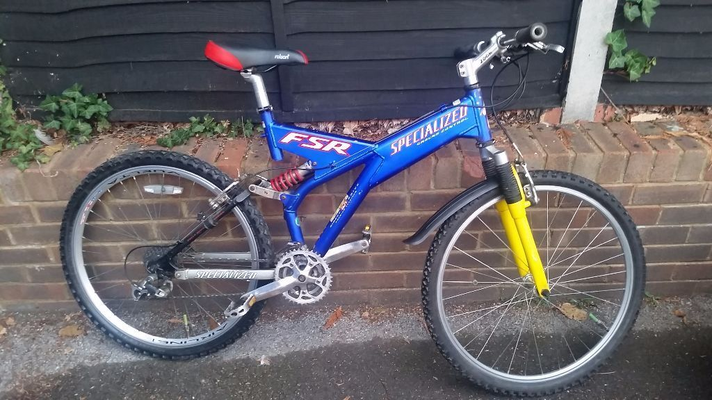 Specialized Full Suspension Mountain bike age 13 to adult ...