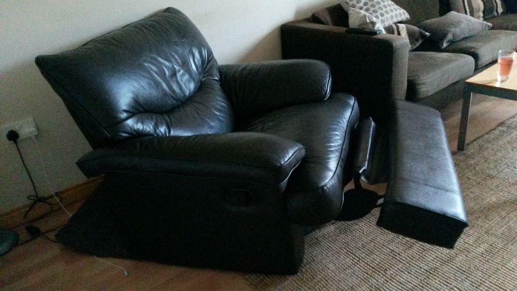 Brown Leather Recliner United Kingdom Gumtree
