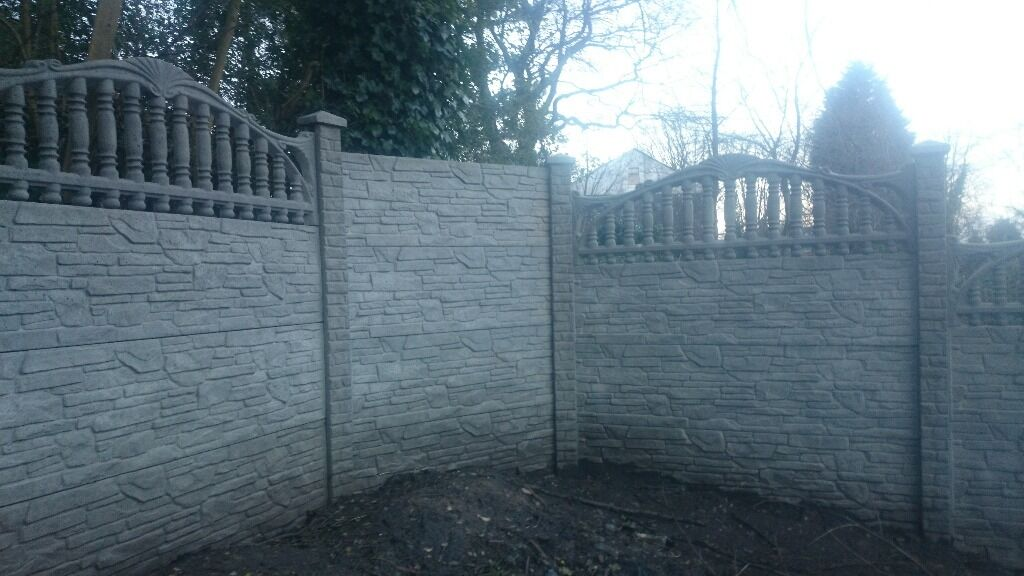 Painting Gravel Boards Fencing Panel,gravel Boards