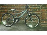 "Saracen Axl junior' bikes : 24"" wheel, 9-13 yrs good condition and fully working"