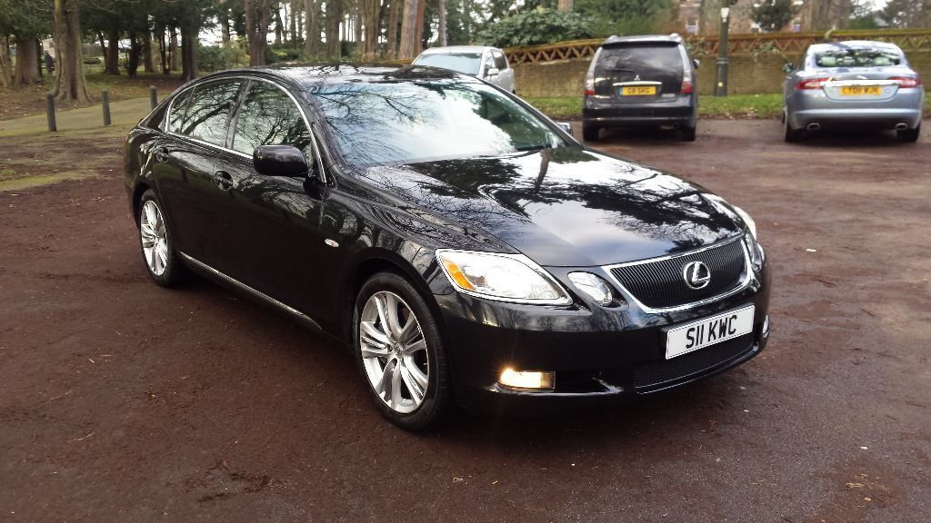 2006 lexus gs 450h a black very low mileage just 65 k. Black Bedroom Furniture Sets. Home Design Ideas