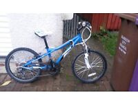 BOYS BLUE MOUNTAIN BIKE USED BUT STILL PLENTY OF LIFE IN IT GOING CHEAP FOR QUICK SALE