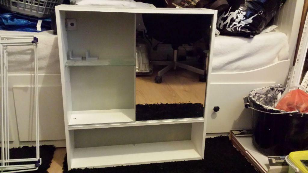 Ikea mirror cabinet buy sale and trade ads great prices for Bathroom cabinets gumtree