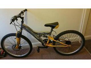 24 inch falcon Combat full suspension moutain bike