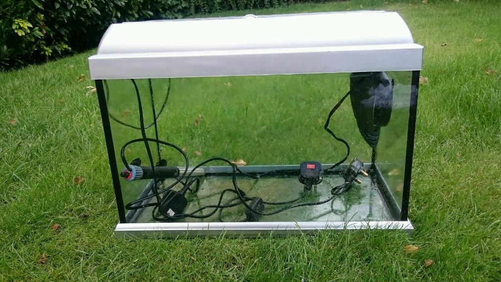 Fish tanks for sale west yorkshire aqua one 165 litre for Koi pond builders yorkshire