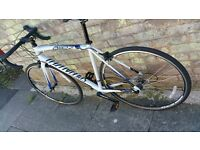 2015 mens road bike 54cm used once sparking new selling due to having injury bargain