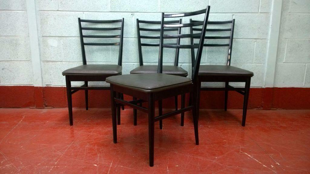Four Meredew Dining Chairs Vintage Delivery Available