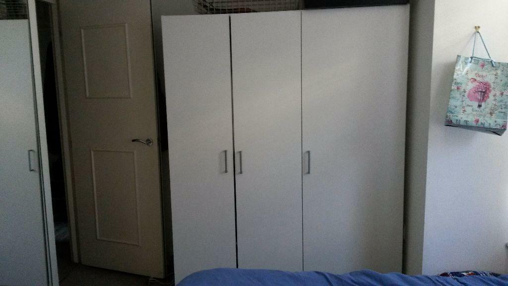Tinted Glass Cabinet Doors Ikea ~ Dombas ikea wardrobe good condition  United Kingdom  Gumtree