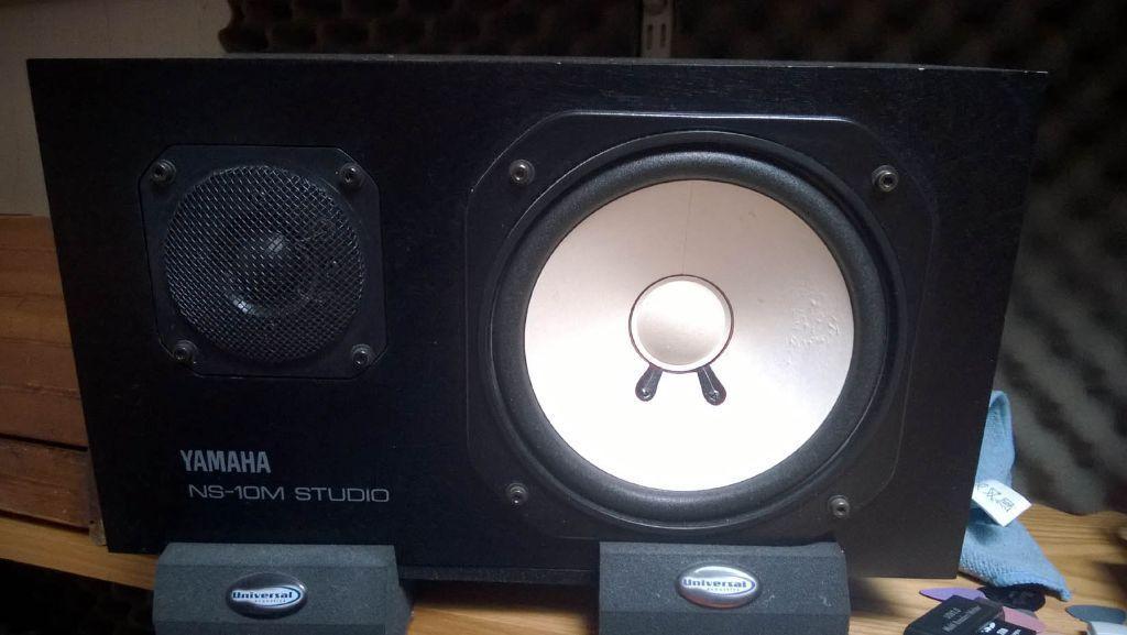 Yamaha ns 10m studio speakers united kingdom gumtree for Yamaha studio subwoofer