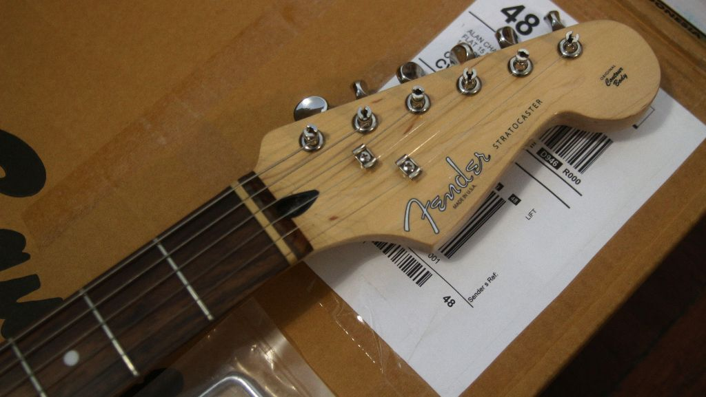 SOLD Squier Bullet Stratocaster (Dimarzio X2N humbucker