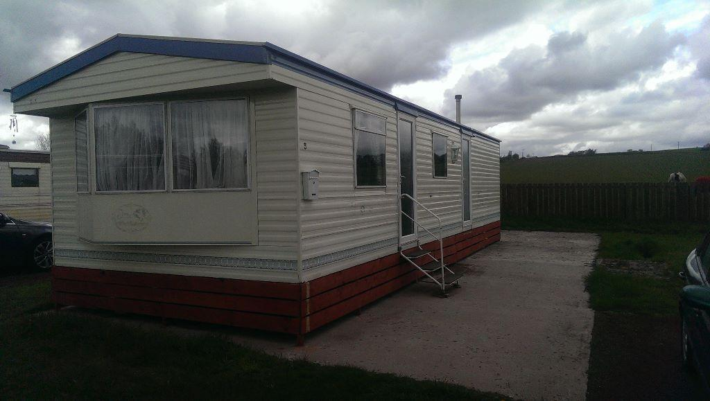 Beautiful  Static Caravan Holiday Hire At St Monans East Neuk Of Fife Scotland