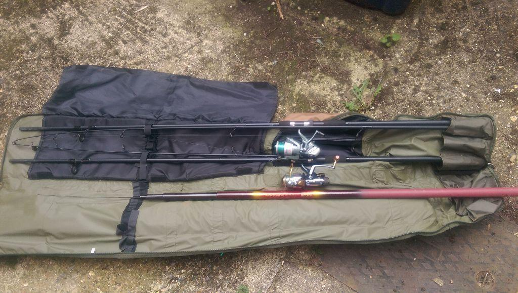Carp rods and reels for sale united kingdom gumtree for Fishing rods and reels for sale