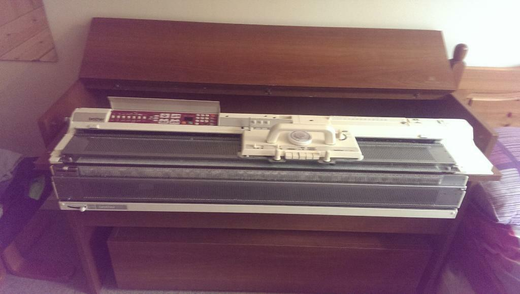 Knitting Machine For Sale : Knitting machine for sale brother buy or sell find it used