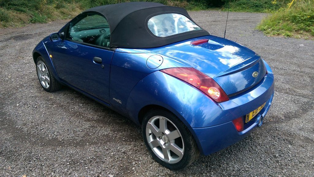 ford streetka ka convertible 1 6 2003 low miles 61 000 not rusty mot 18 may 2016 thinkcar. Black Bedroom Furniture Sets. Home Design Ideas