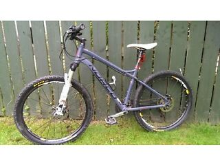 "MENS HARDTAIL MOUNTAIN BIKE NORCO STORM 6.2 26"" WHEELS"