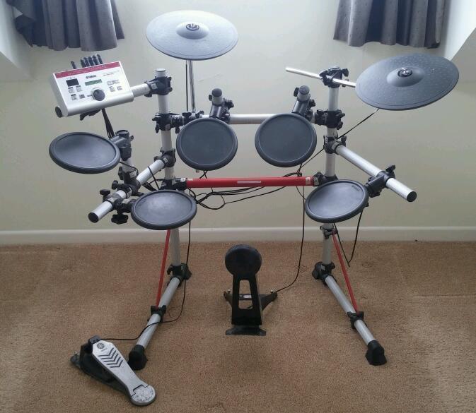 Yamaha dtxpress iv drum kit united kingdom gumtree for Yamaha dtxpress review