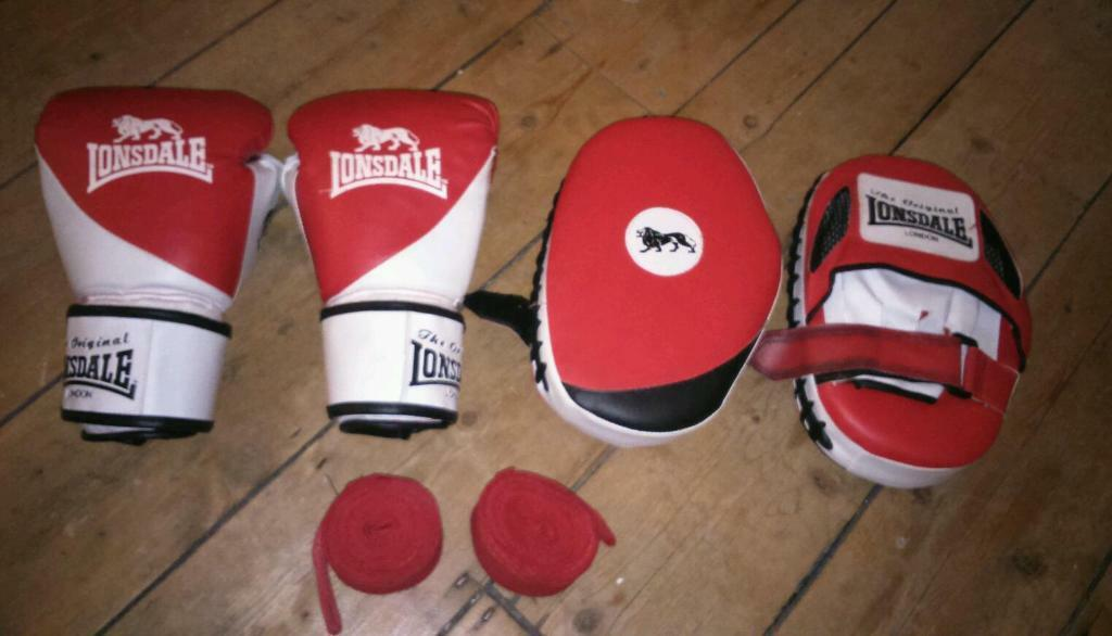 Hand Pads For Boxing Lonsdale Boxing Gloves Hand