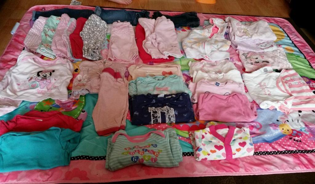 0 3 month baby girl bundle 34 items United Kingdom