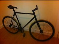 Fixed gear bicycle 58cm