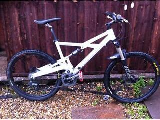 Cannondale Prophet full suss mountain bike