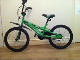 KAWASAKI MX20 BOYS/KIDS BICYCLE (BMX) FOR SALE.