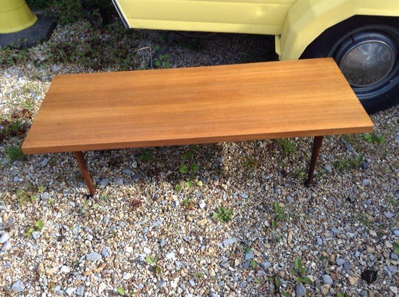 meredew teak vintage retro coffee table united kingdom