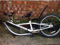Towing bike