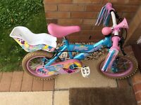 """Silver Fox Sweetie 14"""" girls bike"""