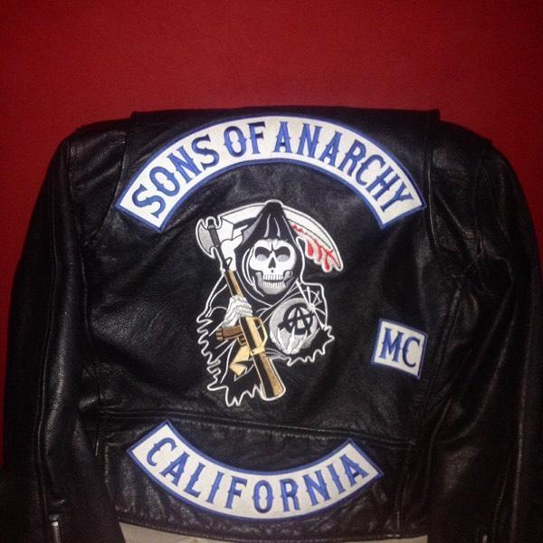 Sons of Anarchy Replica Sons of Anarchy Leather Jacket