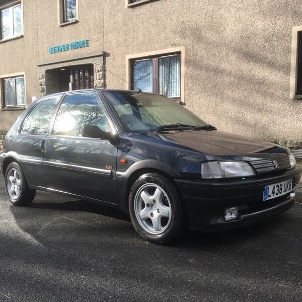 Peugeot 106 xsi 1 4 1994 ellon aberdeenshire gumtree for Interieur 106 xsi