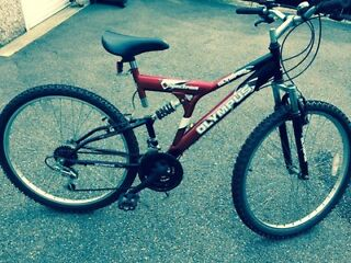 """26"""" Red Mountain Bike for sale"""