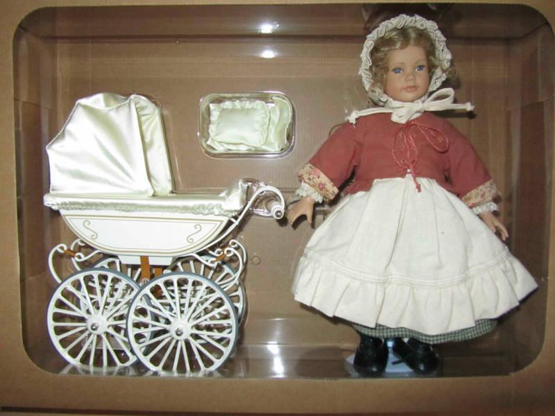 Puppenwagen Holz Kleinanzeigen ~ Märklin Puppenwagen 1611 mit Heidi Ott Puppe 31 cm, OVP in Sachsen