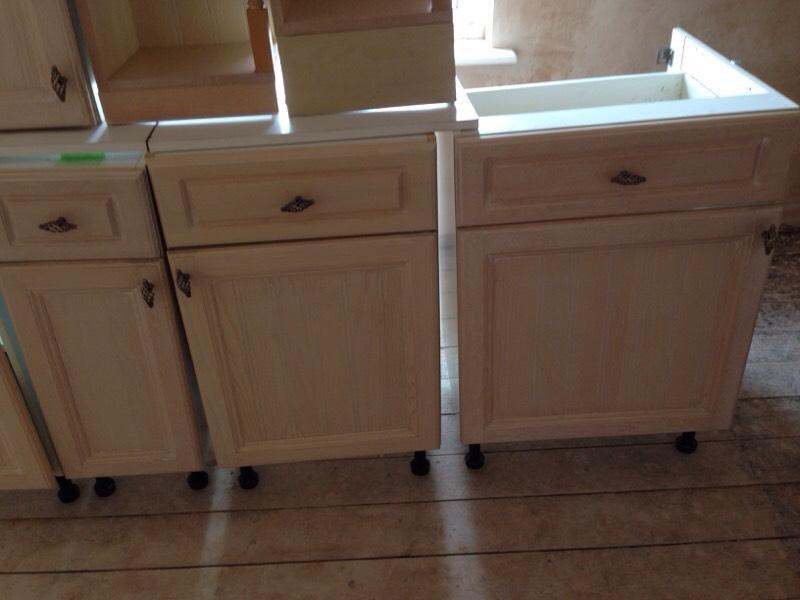 Kitchen Units For Sale Limed Oak United Kingdom Gumtree