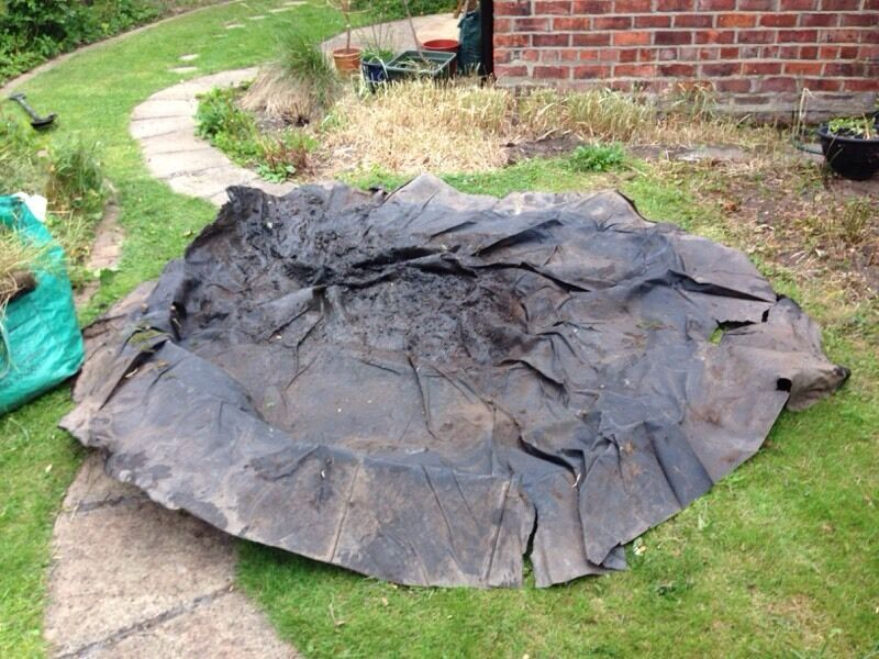 Heavy duty pond liner united kingdom gumtree for Garden pond liners for sale