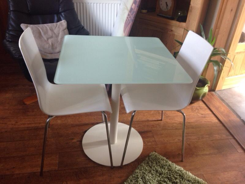Images map - Ikea glass dining table and chairs ...