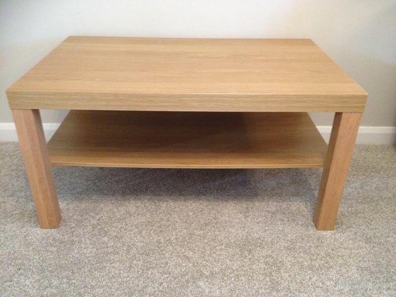 Ikea Coffee Table Coffee table oak effect w90cm x d55cm x  : 86 from dealry.co.uk size 800 x 600 jpeg 65kB